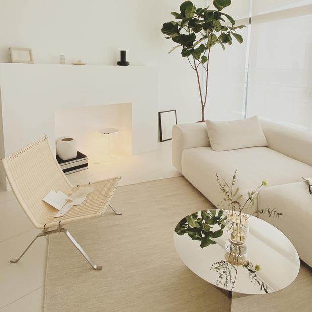 Căn nhà màu trắng của nhà thiết kế Lâm Gia Khang: Cứ nghĩ đơn điệu nhưng trông sang quá - Ảnh 2.