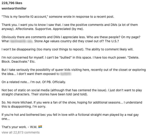 Nam chính Vượt Ngục tuyên bố rời thương hiệu phim đình đám, lý do thực sự làm fan tấm tắc ngưỡng mộ - Ảnh 3.