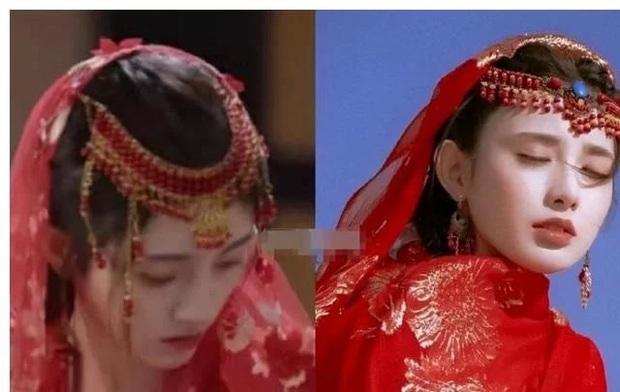 Hết lôi đồ cũ ra mặc, Cúc Tịnh Y lại mượn váy áo của Bành Tiểu Nhiễm để đi đóng phim đây này - Ảnh 1.