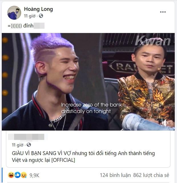Xuất hiện bản cover Giàu Vì Bạn Sang Vì Sợ siêu ngang ngược, đổi lời tiếng Anh sang tiếng Việt và lộn lại đến MCK cũng phải khen đỉnh - Ảnh 5.