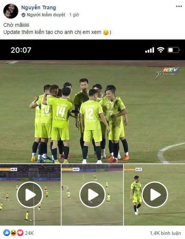 Fan té ngửa khi thấy Rô Nan Độ Mixi vừa toả sáng vừa tấu hài đánh lừa khán giả, lừa luôn cả chính mình trong trận giao hữu bóng đá All Star - Ảnh 1.
