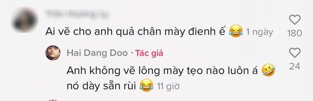 Hot TikToker Hải Đăng Doo xuất hiện sau tranh cãi thi Gương Mặt Thân Quen 2020, giật spotlight với cặp chân mày sâu róm - Ảnh 2.