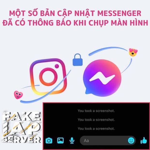 Cư dân mạng chỉ ra 36 kế lách luật Messenger gửi thông báo về chính chủ khi chụp màn hình - Ảnh 1.