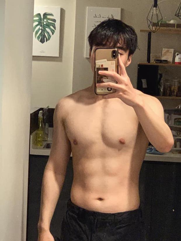 Tun Phạm khoe ảnh thời cấp 1 gây sốc, hành trình từ 80kg đến body 6 múi - Ảnh 5.