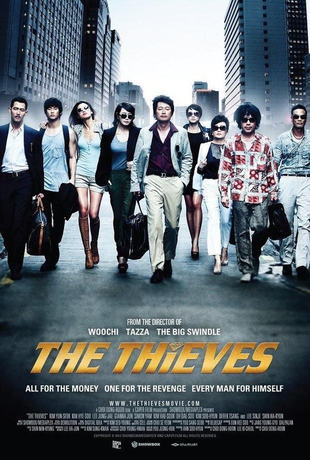 The Thieves - phim cũ rích bỗng hót hòn họt: Jeon Ji Hyun - Kim Soo Hyun ngầu bá cháy lại thêm chuyện trộm cắp cuốn thôi rồi! - Ảnh 3.