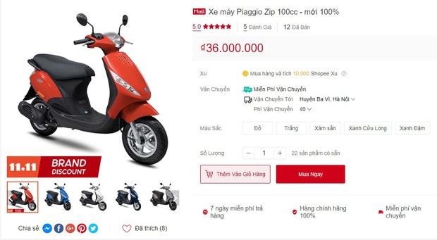 Chuyện kỳ thú ngày siêu sale 11/11: Có đến 4 người lên Shopee mua hẳn xe máy 40 triệu - Ảnh 5.
