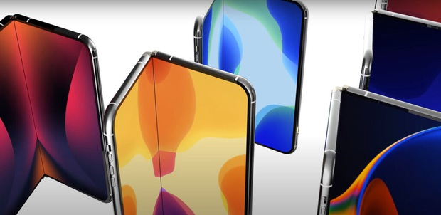 Chiếc iPhone màn hình gập đầu tiên sẽ được Apple trình làng vào năm 2022? - Ảnh 1.
