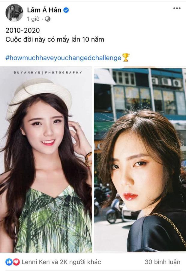 Thử thách #howmuchhaveyouchangedchallenge có hơn 2 triệu lượt tham gia, nhiều sao Việt như Bảo Thy, Bảo Thanh, Lâm Á Hân, Tú Hảo cũng rần rần bắt trend - Ảnh 8.