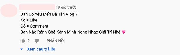 Bà Tân Vlog giảm view kinh khủng khiếp, đã thế còn gặp nạn spam làm kênh YouTube 4 triệu subscriber ngày càng sa sút? - Ảnh 8.