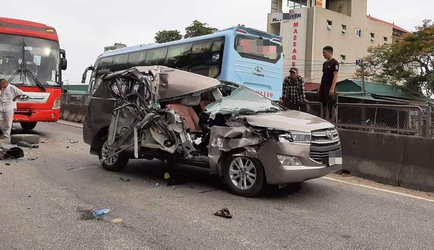 Bắc Giang: 3 người thương vong do xảy ra tai nạn ô tô trong lúc bị truy đuổi - Ảnh 1.