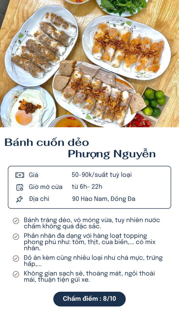 Chấm điểm 6 hàng bánh cuốn nổi tiếng nhất Hà Nội: Chấm đến đâu rớt nước miếng đến đó - Ảnh 4.