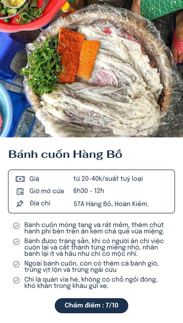 Chấm điểm 6 hàng bánh cuốn nổi tiếng nhất Hà Nội: Chấm đến đâu rớt nước miếng đến đó - Ảnh 6.