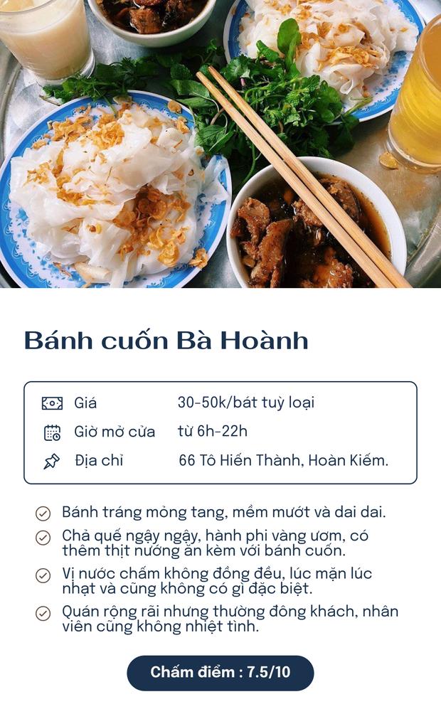 Chấm điểm 6 hàng bánh cuốn nổi tiếng nhất Hà Nội: Chấm đến đâu rớt nước miếng đến đó - Ảnh 5.