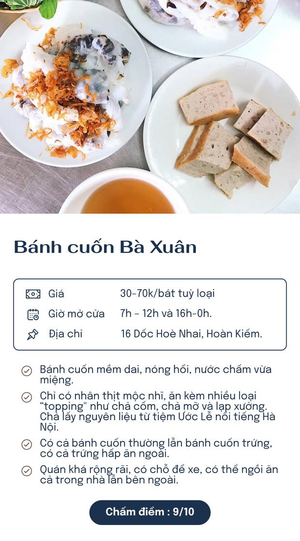 Chấm điểm 6 hàng bánh cuốn nổi tiếng nhất Hà Nội: Chấm đến đâu rớt nước miếng đến đó - Ảnh 1.