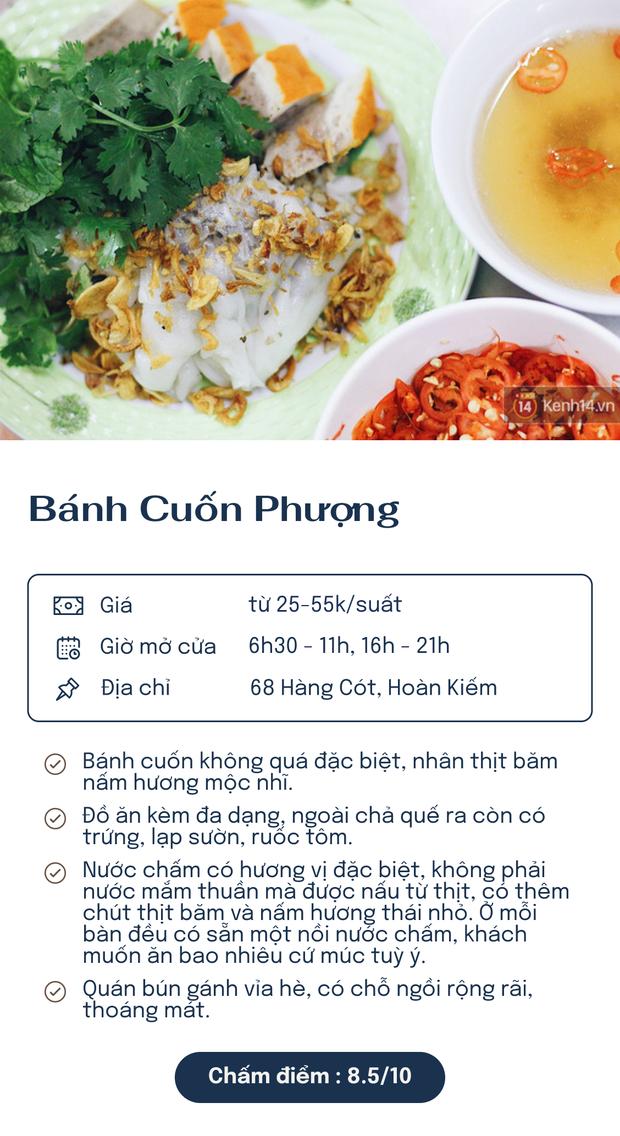 Chấm điểm 6 hàng bánh cuốn nổi tiếng nhất Hà Nội: Chấm đến đâu rớt nước miếng đến đó - Ảnh 2.