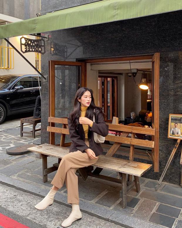 Gái Hàn mặc blazer trông sang chảnh chứ không hề già, các nàng học ngay 10 công thức để có set đồ trendy không cần hỏi - Ảnh 3.