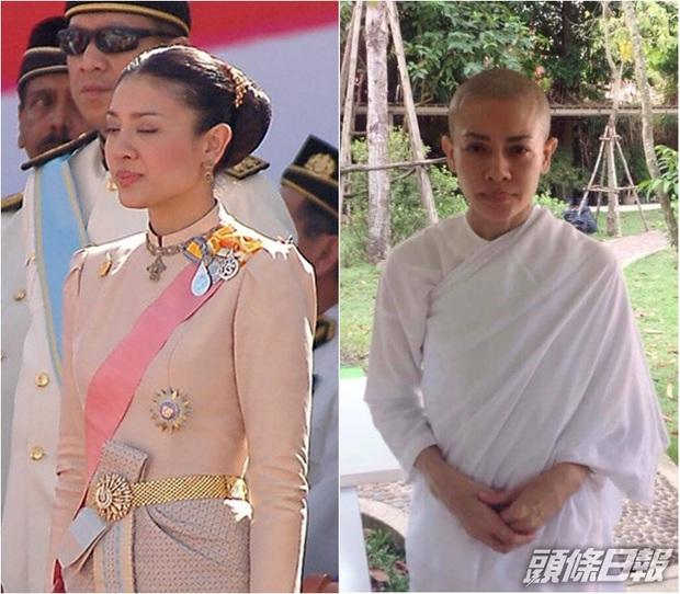Trong khi Hoàng quý phi được phục vị, hình ảnh vợ cũ của Vua Thái Lan gầy gò hốc hác, đang trồng rau trong chùa được chia sẻ gây xôn xao MXH - Ảnh 4.
