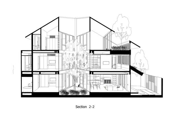 Nằm sâu trong con ngõ nhỏ Hội An, ngôi nhà vẫn ngập tràn nắng gió bởi tư duy thiết kế khoa học của kiến trúc sư - Ảnh 12.