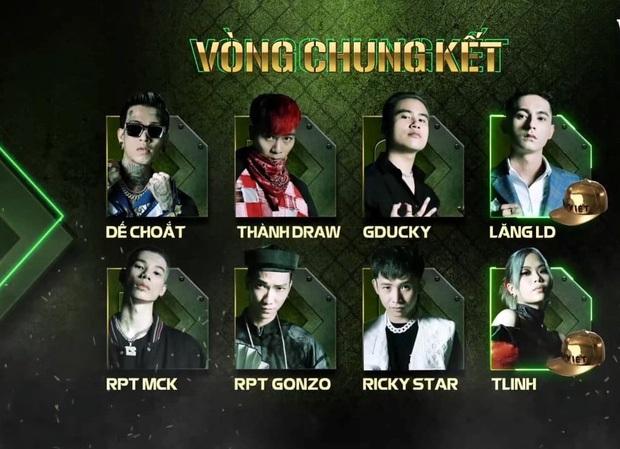 Quiz: Top 8 xuất sắc nhất Rap Việt mùa đầu tiên đã lộ diện nhưng bạn có hiểu hết về họ? - Ảnh 2.
