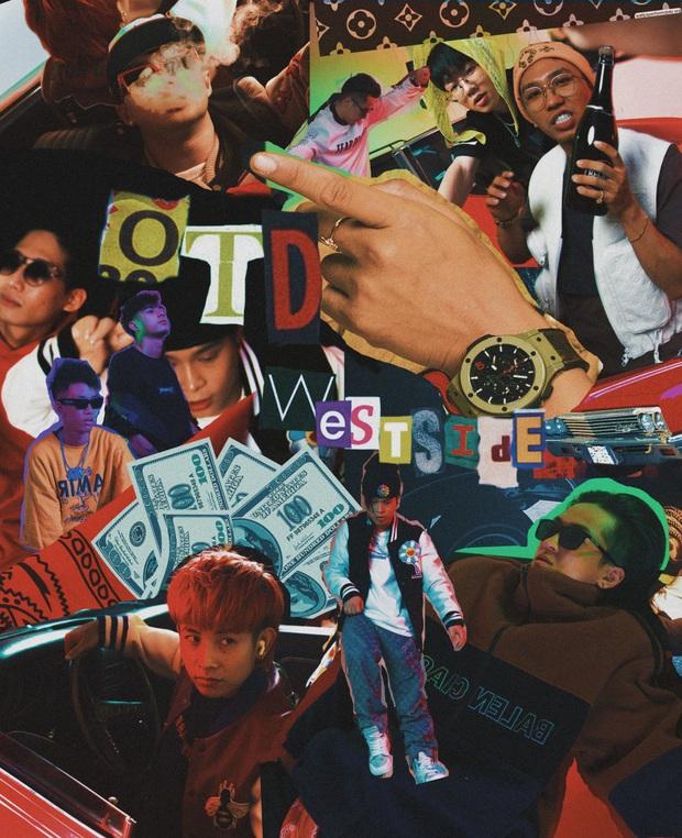 Nhóm rap OTD có gì: Ricky Star - Lăng LD dắt tay nhau vào Chung kết Rap Việt, Obito sở hữu hit 73 triệu view và nhiều hơn thế - Ảnh 8.
