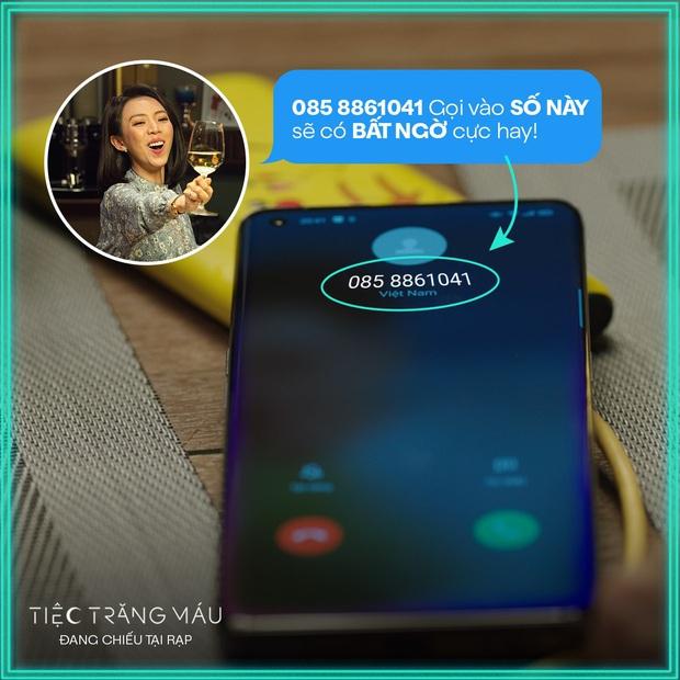 Fan Việt tò mò số điện thoại ở Tiệc Trăng Máu bèn gọi cháy máy liền nhận cái kết hú hồn - Ảnh 3.