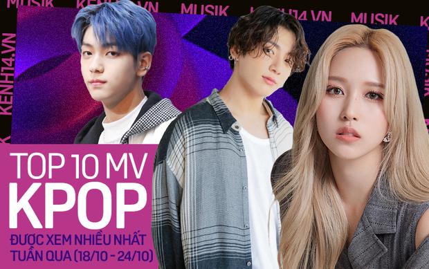 TWICE vượt mặt BTS chiếm ngôi vương, TXT mới comeback đã nhỉnh hơn BLACKPINK tại top 10 MV Kpop được xem nhiều nhất tuần - Ảnh 1.