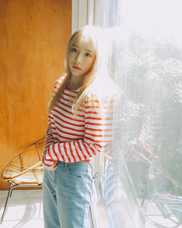 Muốn trông trẻ măng sành điệu, các nàng hãy học style của chị đại Taeyeon ngay đi! - Ảnh 10.