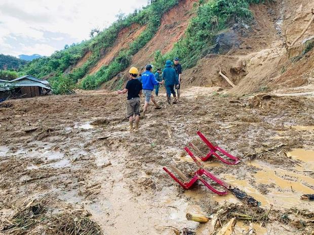 Tìm thấy thi thể Phó Bí thư Xã Đoàn bị sạt lở núi vùi lấp khi đi giúp dân chống bão số 9 - Ảnh 1.