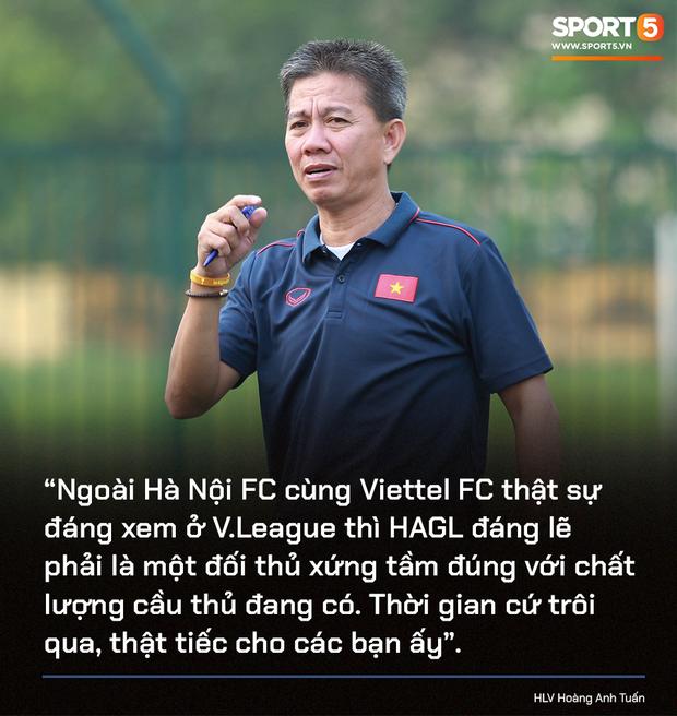 Cựu HLV U19 Việt Nam, ông Hoàng Anh Tuấn đã có những chia sẻ về thành tích của CLB HAGL ở mùa giải 2020.