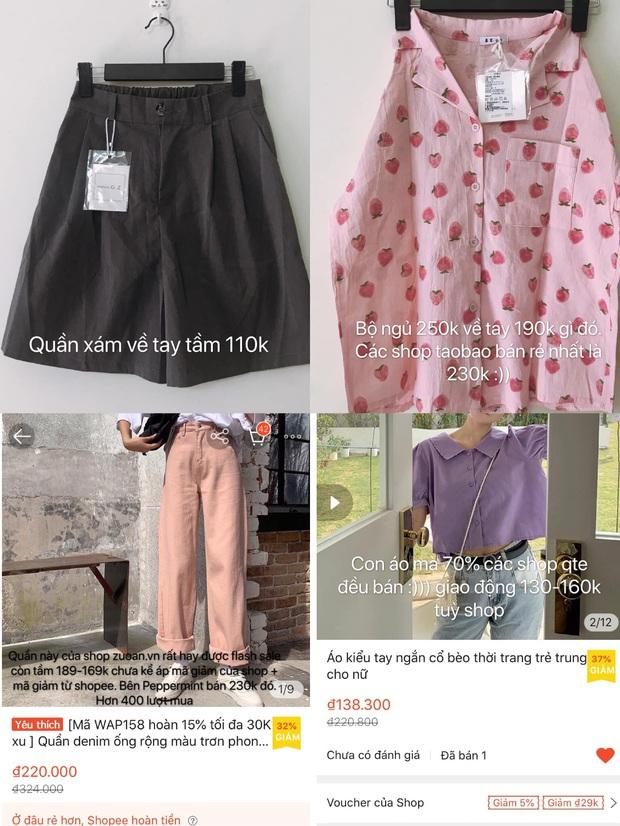Tín đồ shopping chỉ cách mua quần áo ở shop quốc tế Shopee giá rẻ bằng 1/2 mua trong nước - Ảnh 3.