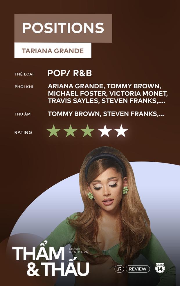 positions - Tuyển tập những bản demo hay nhất của Ariana Grande, thú vị nhưng thiếu cao trào? - Ảnh 15.