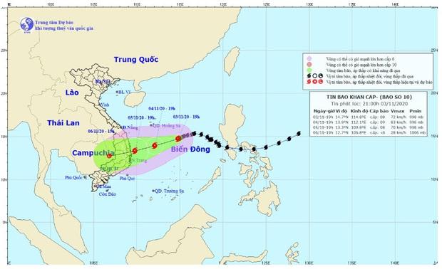 Tin bão khẩn cấp: Bão số 10 diễn biến phức tạp, cường độ và quỹ đạo bất định, người dân cần cập nhật thường xuyên để ứng phó tốt nhất - Ảnh 1.