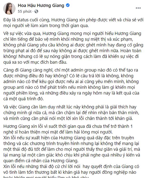Ơn giời, Hương Giang không sai chính tả nữa rồi! - Ảnh 3.