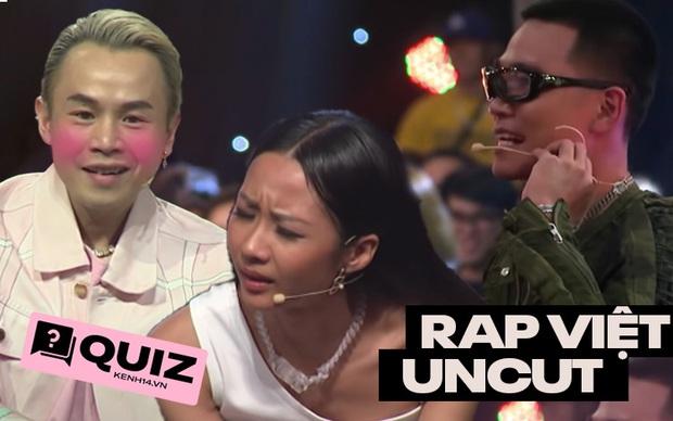 Đừng tự nhận mình là fan cứng Rap Việt nếu như bạn chưa xem hết các đoạn uncut và làm đúng hết bài quiz này! - Ảnh 1.