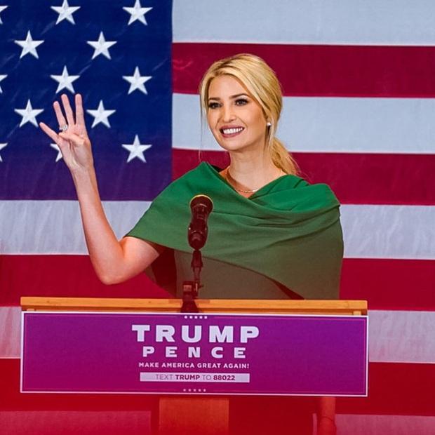 Nữ thần Ivanka Trump: Điều tuyệt nhất trong chiến dịch tranh cử của Tổng thống Trump, phá vỡ kỷ lục của ông Obama và xây dựng biểu tượng hoàn mỹ - Ảnh 1.
