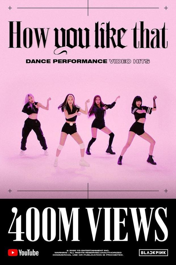 How You Like That bản dance chạm mốc 400 triệu lập kỷ lục toàn Kpop, tốc độ tăng view cứ như 1 MV chính thức khiến ai cũng choáng - Ảnh 1.