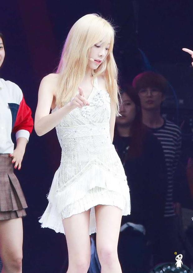 Idol da trắng không thiếu nhưng bật tông như 4 mỹ nhân Kpop này thì là của hiếm, Dahyun - Taeyeon dìm sạch cả đồng đội - Ảnh 3.