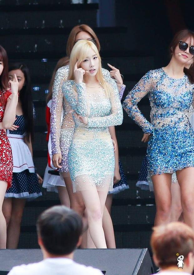 Idol da trắng không thiếu nhưng bật tông như 4 mỹ nhân Kpop này thì là của hiếm, Dahyun - Taeyeon dìm sạch cả đồng đội - Ảnh 4.