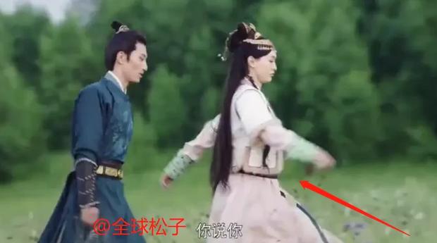 """Đường Yên lộ rõ bụng bầu ở Yến Vân Đài, netizen điên tiết: """"Ekip ghi hình bất chấp sức khỏe diễn viên ư?"""" - Ảnh 1."""