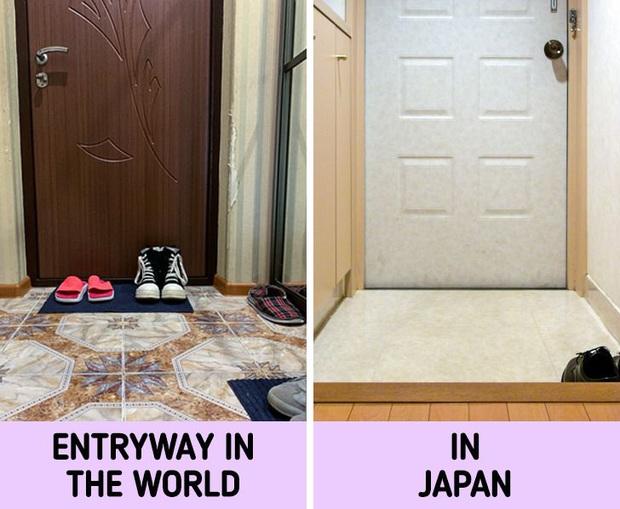 Lần đầu ghé thăm nhà của người Nhật, du khách tá hoả trước một loạt điểm khác biệt so với nửa còn lại của thế giới - Ảnh 1.