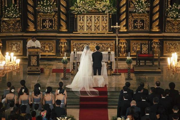 Hà Tăng lần đầu hé lộ toàn cảnh lễ đường hôn lễ ở Philippines, gửi lời ngọt ngào đến Louis Nguyễn nhân kỷ niệm 8 năm cưới - Ảnh 2.