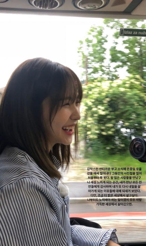 Hết Irene, đến Yeri (Red Velvet) dính phốt: Tưởng niệm diễn viên Gia Đình Là Số 1 nhưng kèm hình ảnh... kém duyên - Ảnh 2.