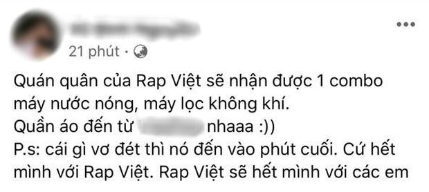 Người trong ekip Rap Việt tiết lộ giải thưởng Quán quân: Dân tình nghe xong xỉu ngang, chỉ Ricky Star - Lăng LD là vui nhất - Ảnh 2.