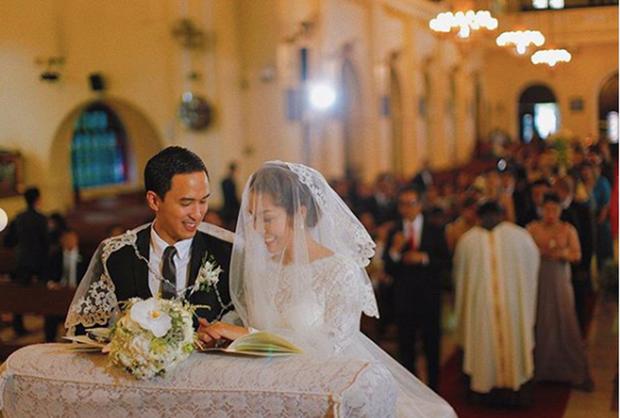 Hà Tăng lần đầu hé lộ toàn cảnh lễ đường hôn lễ ở Philippines, gửi lời ngọt ngào đến Louis Nguyễn nhân kỷ niệm 8 năm cưới - Ảnh 4.