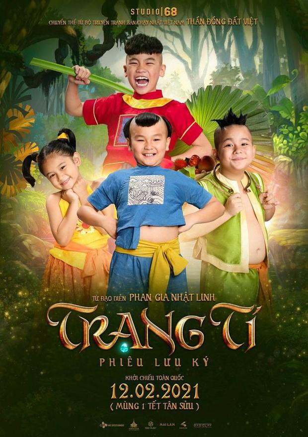 Trạng Tí tung poster mới, netizen chia phe tranh cãi: Người khen nức nở, kẻ than thở mất cả tuổi thơ - Ảnh 1.