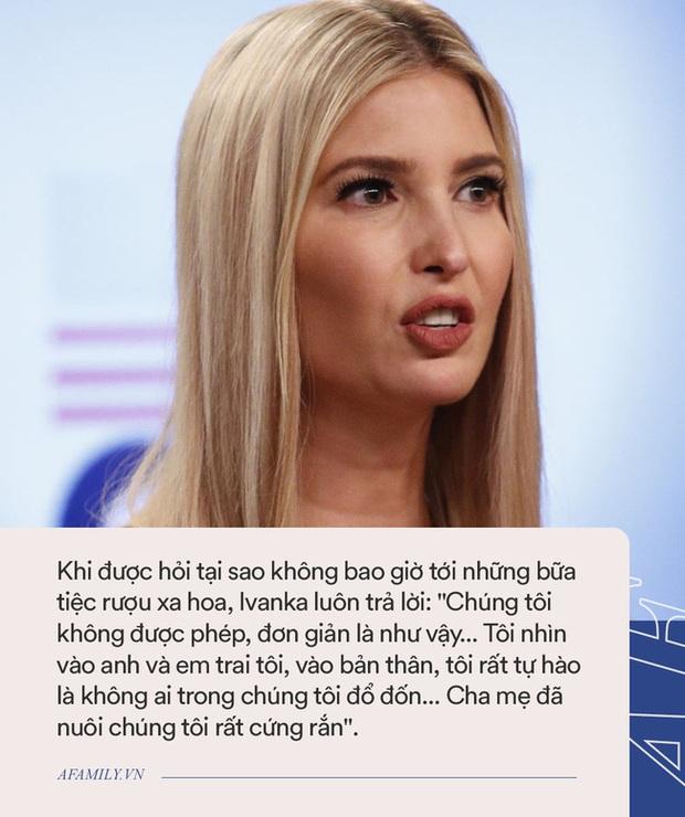 Con gái của Donald Trump: Tốt nghiệp đại học danh tiếng, giàu nứt đố đổ vách nhưng cả đời không dám làm điều này vì bố cấm - Ảnh 3.