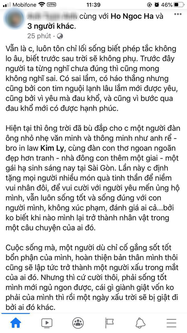 Hà Hồ sinh đôi trai gái, mẹ ruột túc trực bên giường, hội bạn thân Lý Quí Khánh đến bệnh viện chúc mừng - Ảnh 7.