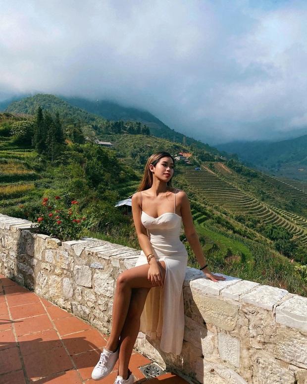Hiếm hoi mới thấy rich kid Tiên Nguyễn đi nghỉ dưỡng ở Sa Pa, địa điểm cô nàng chọn hóa ra được vô số người yêu thích gần đây - Ảnh 2.