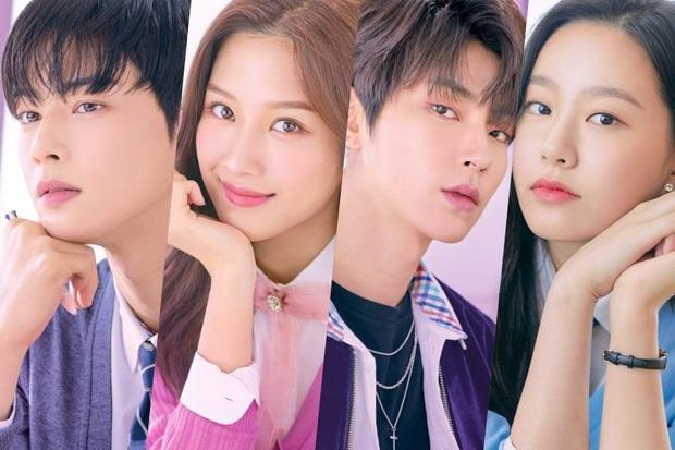 Vô tình đụng trúng Cha Eun Woo, nữ hoàng sống ảo ịn luôn lớp makeup lên áo nam thần ở trailer True Beauty - Ảnh 7.