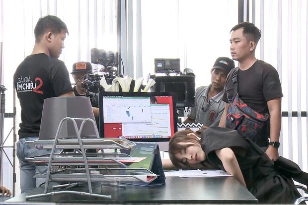 Netizen đào lại ảnh Lan Ngọc kiệt sức ở phim trường, nội soi dạ dày viêm loét đến chảy máu trước khi phát hiện tiền ung thư - Ảnh 2.